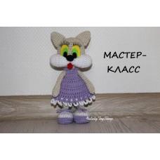 "Мастер-класс ""Кошечка Щекастик"" в формате PDF"