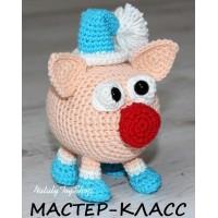 """Мастер-класс """"Свинка в колпаке и сапожках"""" в формате PDF"""