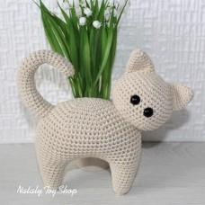 Кошка Интерьерная бежевая