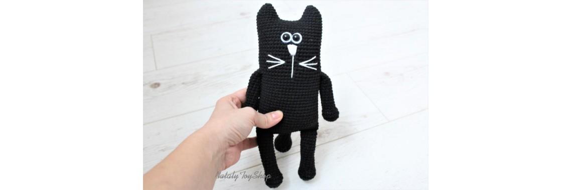 Черный Длинный Кот