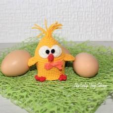 Грелка на яйцо Цыпленок-Мальчик