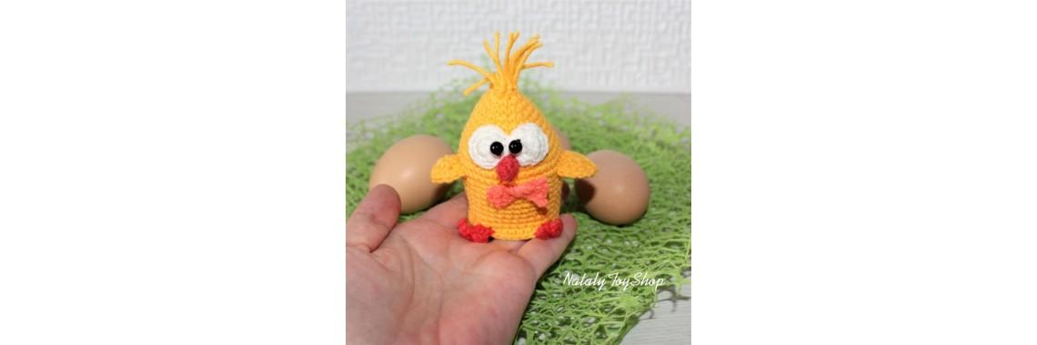 Грелка цыпленок-мальчик