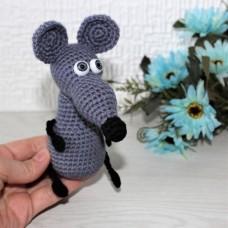 Маленький Крысенок темно-серый