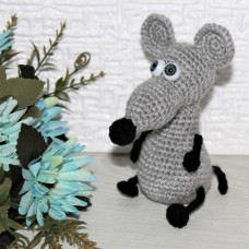Маленький Крысенок светло-серый