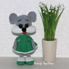 Мышка Щекастик