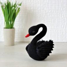 Свадебный Лебедь черный